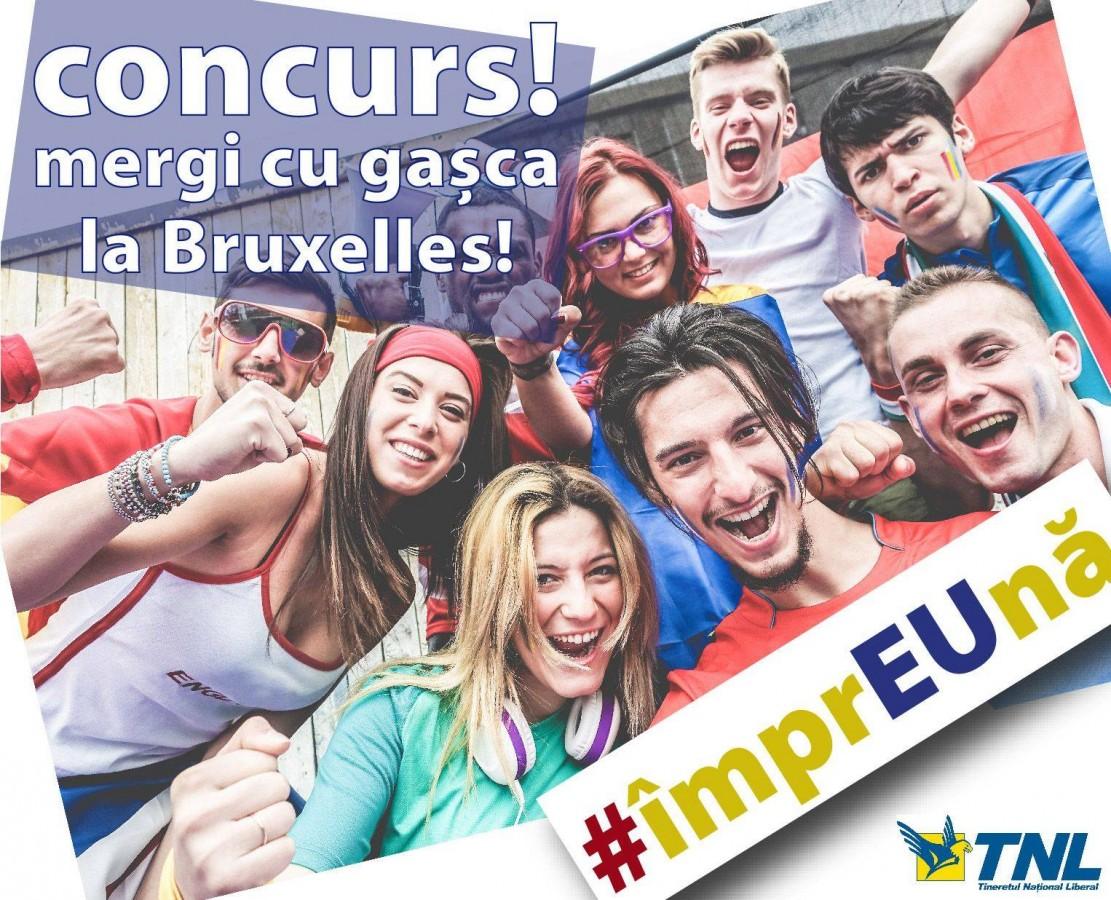 Cu gașca la Bruxelles. Concurs TNL Sibiu