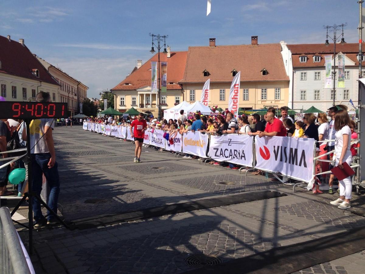 Cifrele Maratonului Sibiu: 2816 alergători, 5 curse, 26 de proiecte