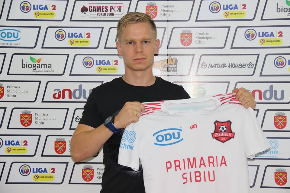 FOTO - FC Hermannstadt a transferat un nou jucător de națională