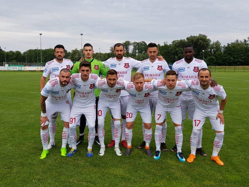 FC Hermannstadt 1-1 în Slovenia. Primul amical