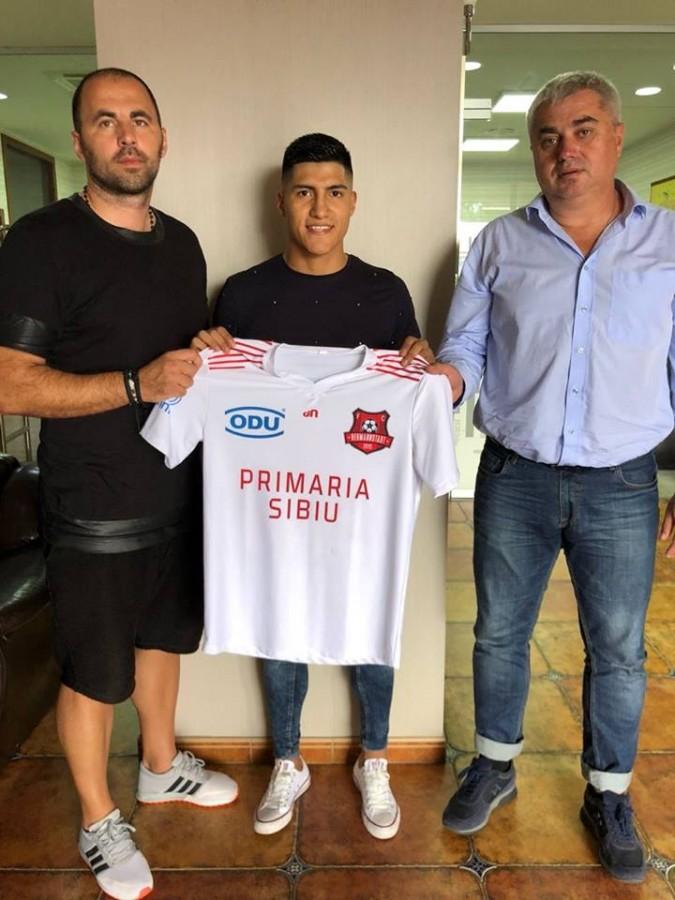 FC Hermannstadt a transferat un nou jucător de națională