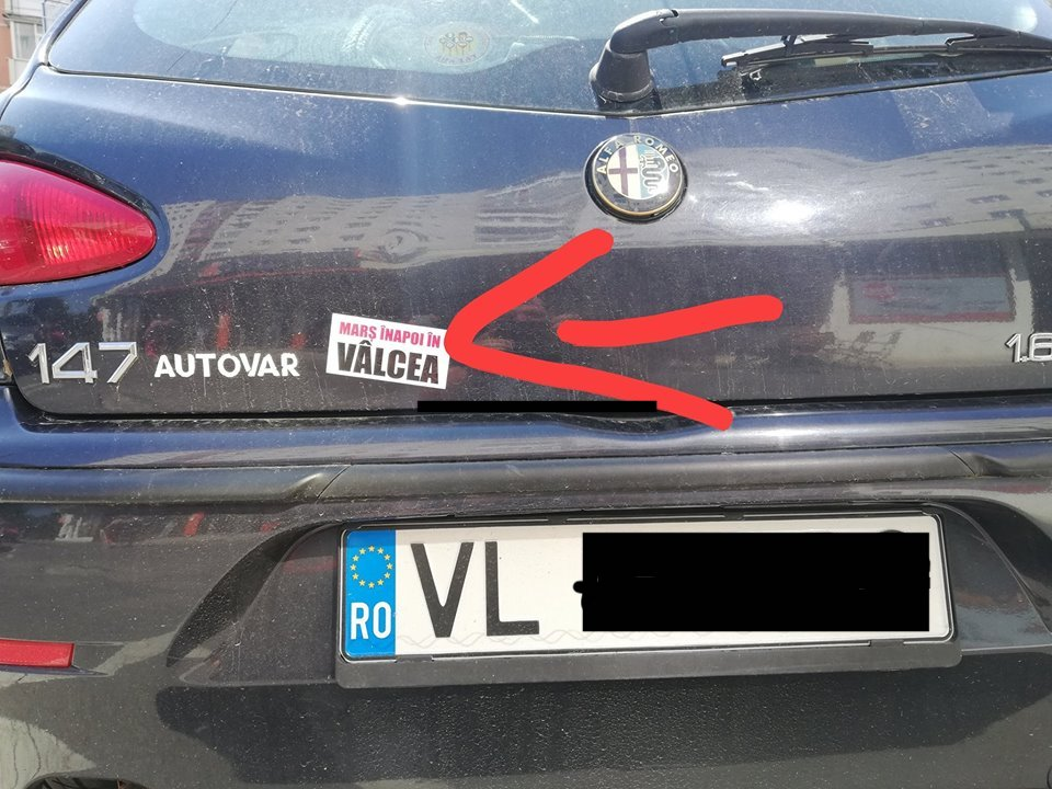 """Amenințare la adresa vâlcenilor din Sibiu. """"Poliția trebuie să ia măsuri"""""""