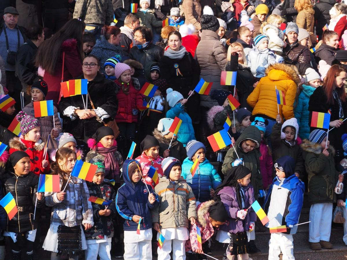 Mii de medieșeni au participat la ceremoniile dedicate Centenarului (CP)