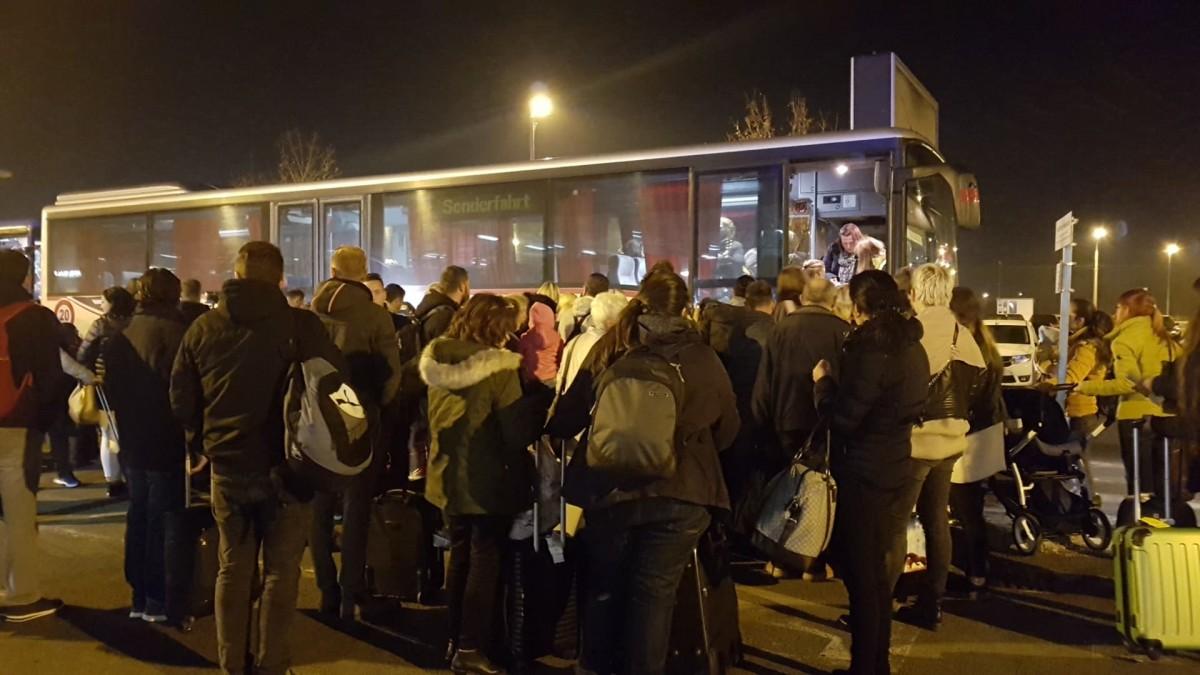 Mai multe zboruri au fost deviate de la Cluj spre Aeroportul Internațional Sibiu