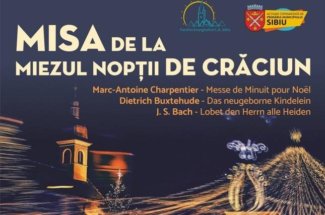 """""""Misa de la miezul nopții de Crăciun"""" – Corul Bach susține două concerte, la început de decembrie"""