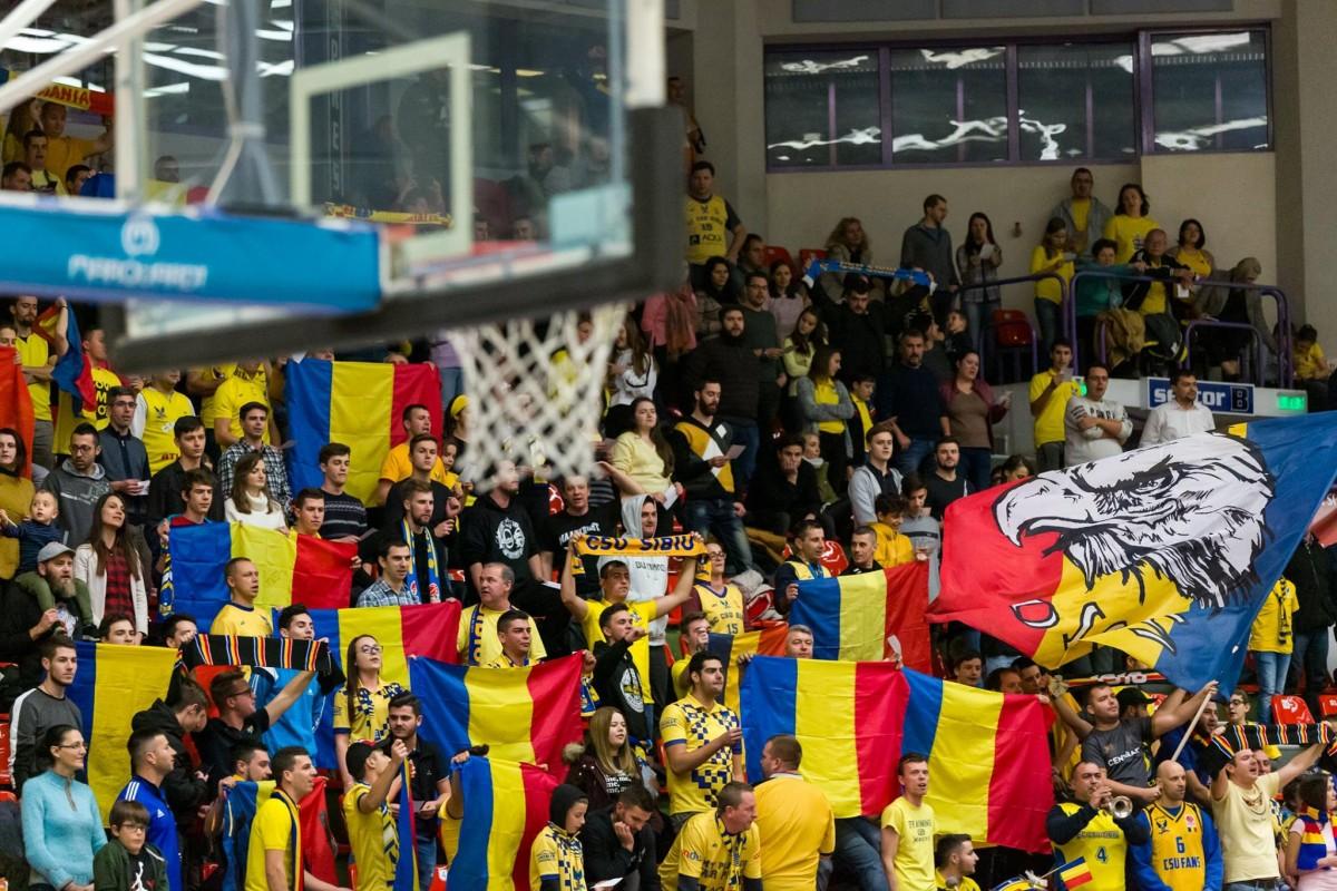 CSU Sibiu a învins Steaua București și este lider detașat în Ligă