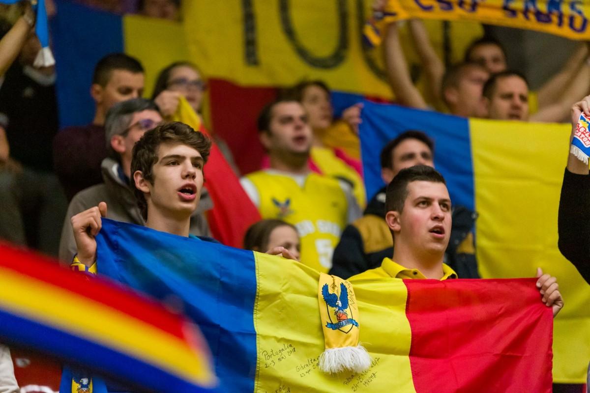 Moment deosebit al galeriei CSU, în timpul meciului cu Dinamo | VIDEO