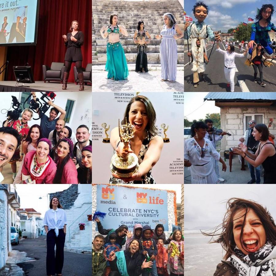 O multiplă câștigătoare a premiului Emmy în televiziune promovează tradițiile sibiene în toată lumea