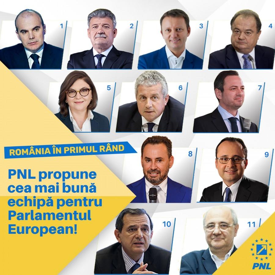 PNL, susținut de semnăturile a peste 1 400 000 de români în cursa pentru europarlamentare