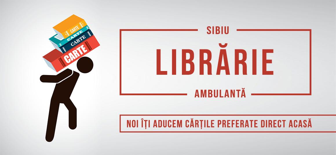 Micile afaceri: Librăria ambulantă a Sibiului îți aduce gratis cărți acasă