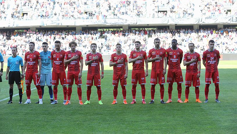 FC Hermannstadt începe noul sezon al Ligii 1 cu FCSB