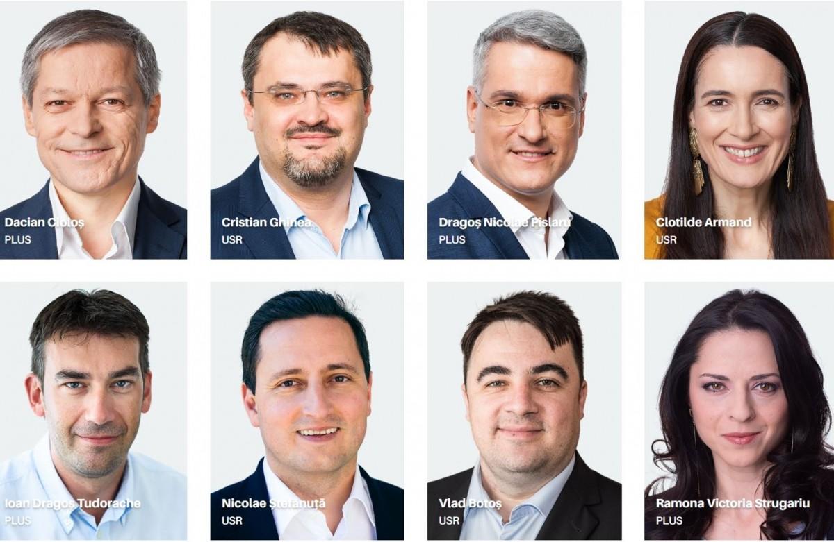 Alianța 2020 USR PLUS: cea mai buna lista de candidați
