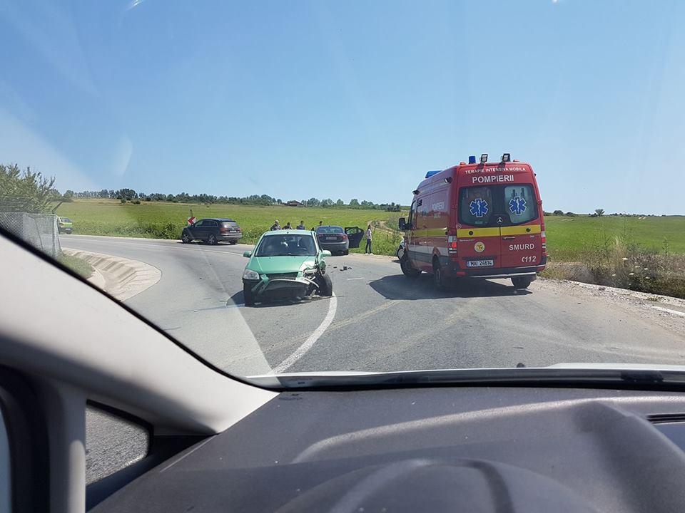 Un șofer de 39 de ani, fără permis, a provocat un accident pe dealul Dăii
