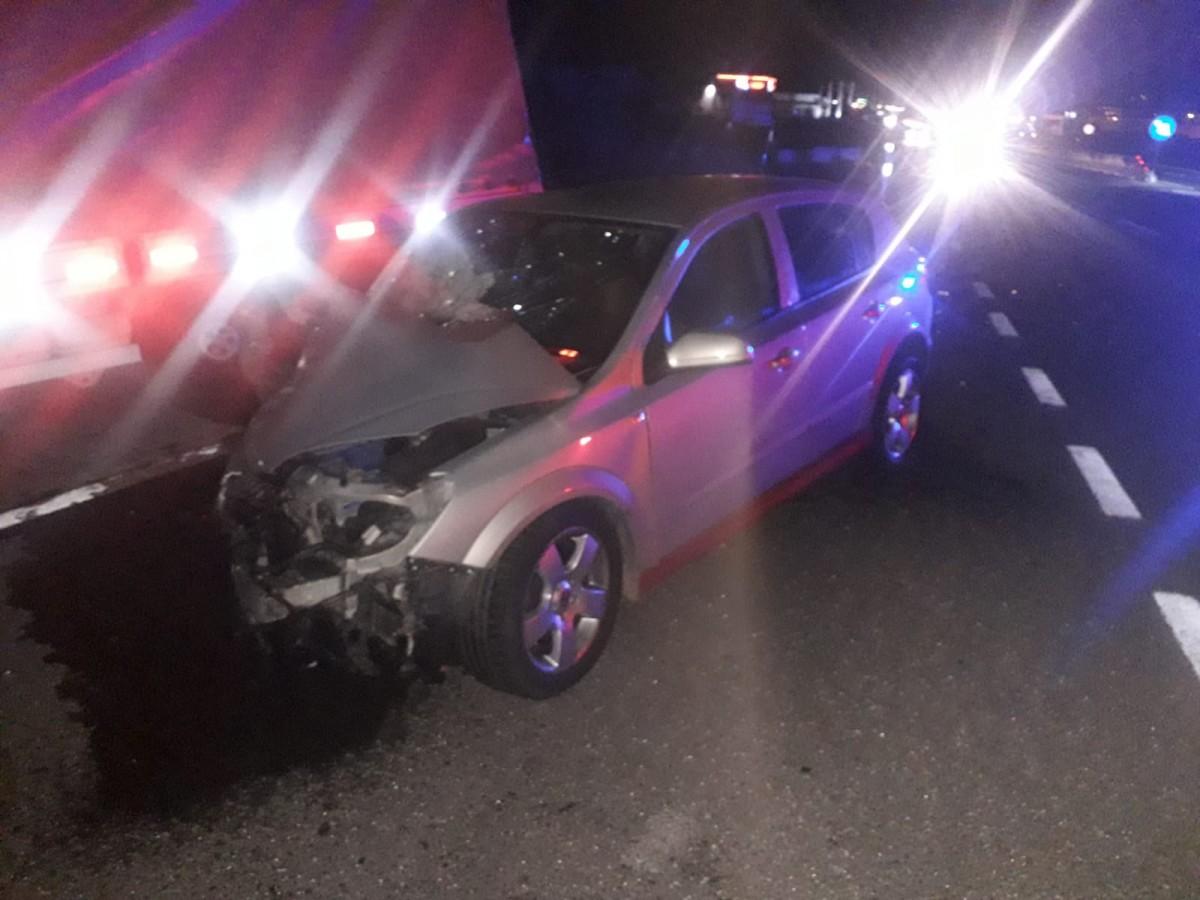 Doi frați, răniți într-un accident pe DN 1, zona Șelimbăr | foto