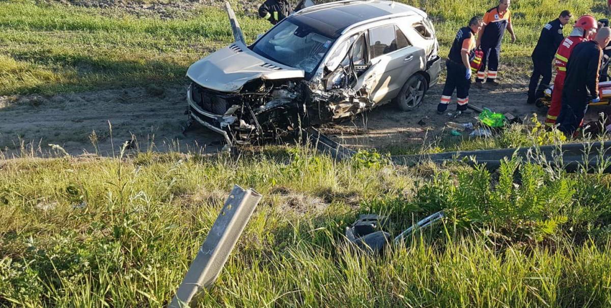 """VIDEO Avocatul Ucă, în urma accidentului mortal de la Dridif: """"Dacă nu eram într-o mașină foarte tare, eram morți"""""""