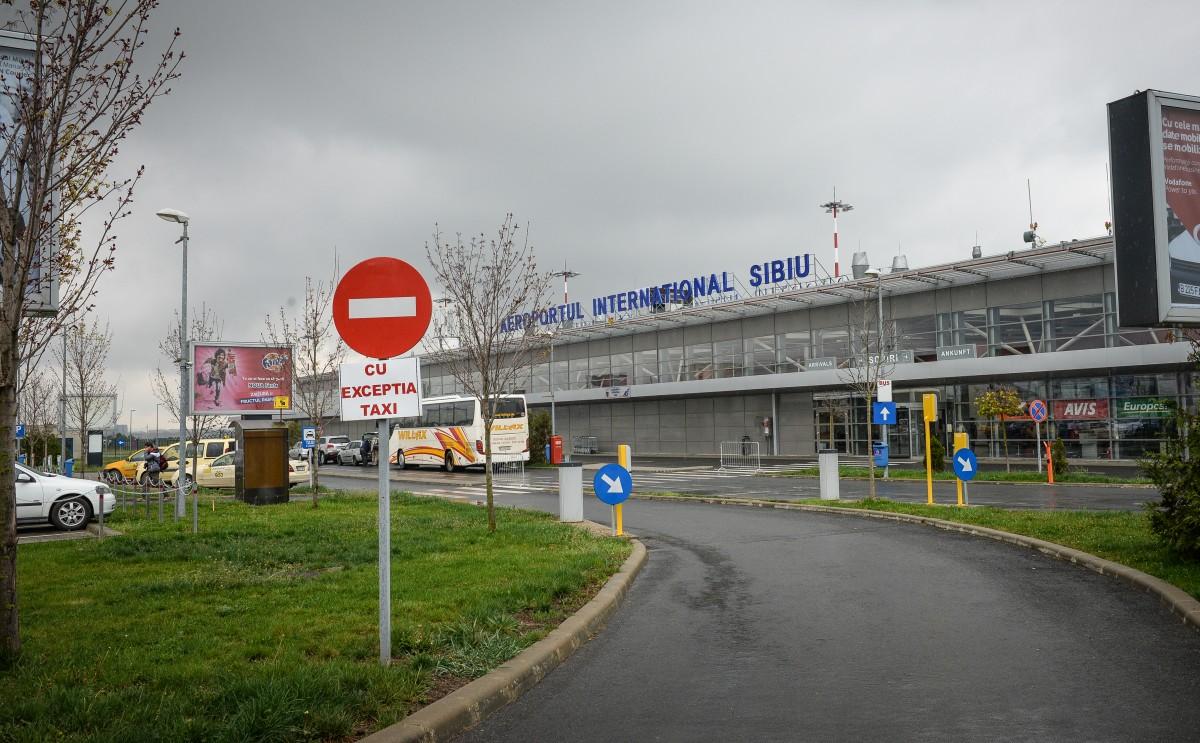 Cea mai aglomerată zi din istoria Aeroportului Sibiu: 120 de decolări și aterizări
