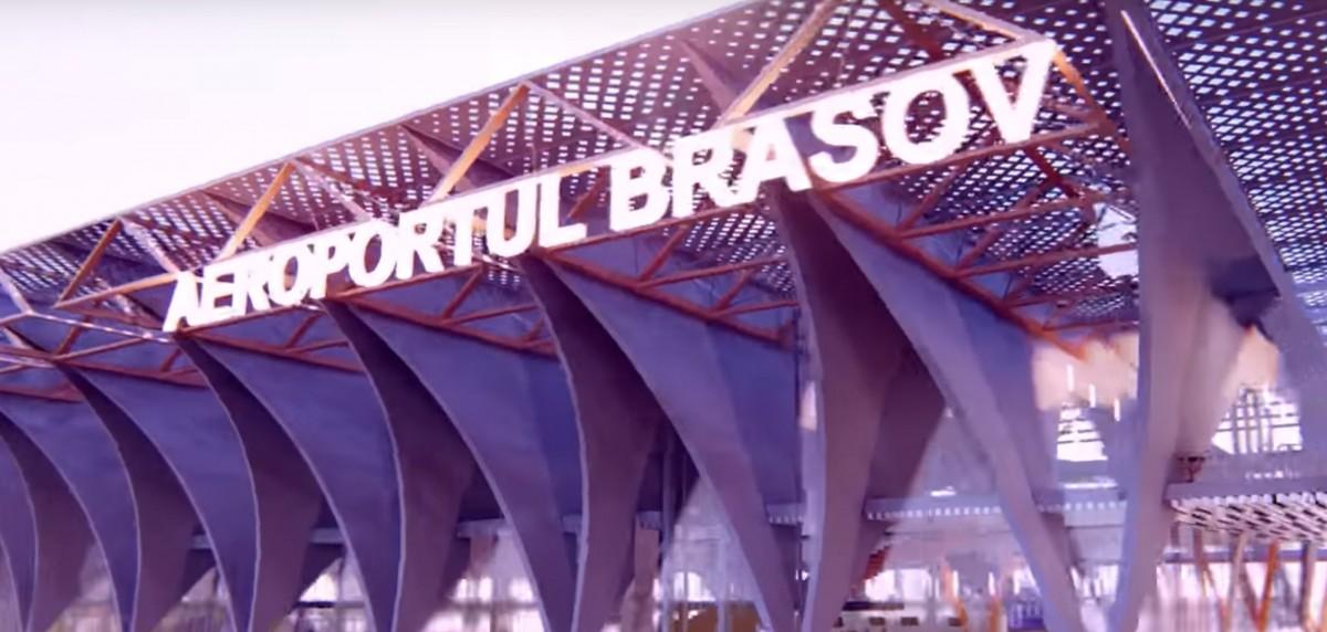 Așa va arăta terminalul Aeroportului Brașov. Mixt între gotic și modernism FOTO VIDEO