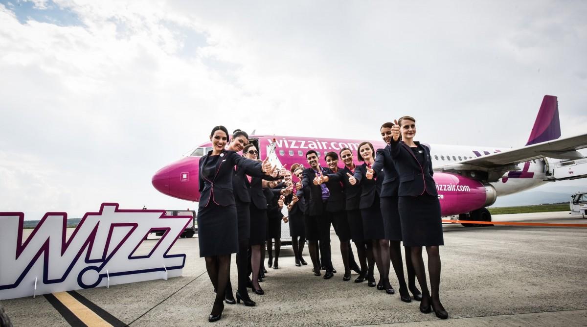 Aeronews: Wizz Air va deschide șase noi rute de la Sibiu. Către Franța, Elveția, Danemarca, Belgia, Germania și Israel