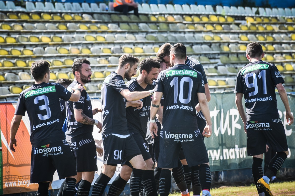FC Hermannstadt s-a calificat în optimile Cupei României
