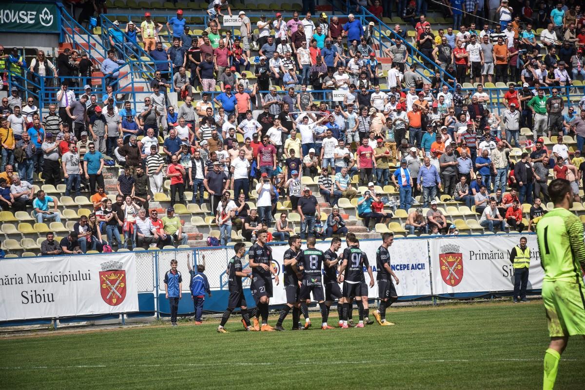 FC Hermannstadt are meci greu astăzi, acasă. Pelici: Avem nevoie de această victorie!