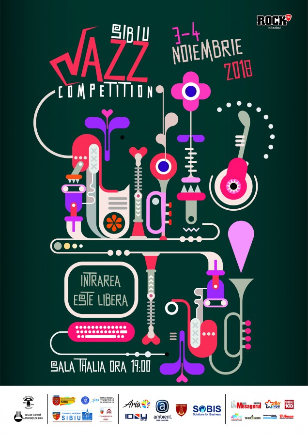 Concursul Sibiu Jazz Festival, în acest weekend. Intrarea la concerte este gratuită