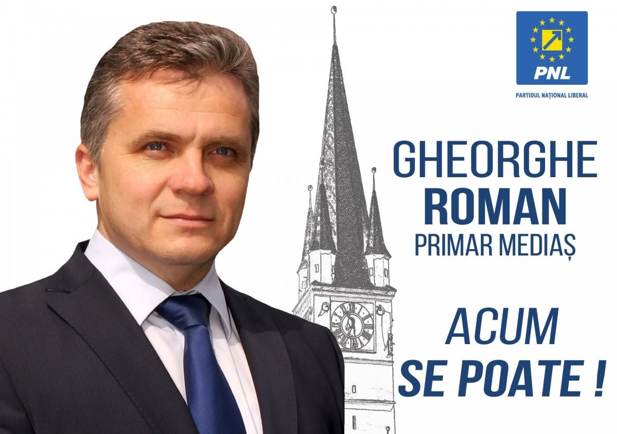 Gheorghe Roman la un an de mandat. Totul pentru drumuri