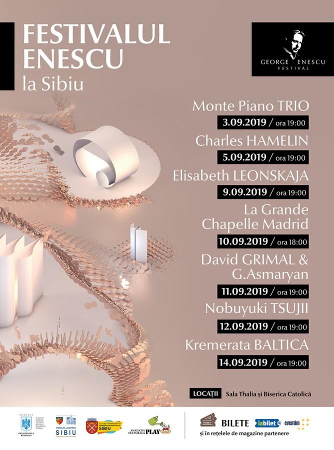 Elisabeth Leonskaja și Monte Piano Trio, printre artiștii care ajung la Sibiu, la Festivalul Enescu. Ultimele zile cu bilete la preț special