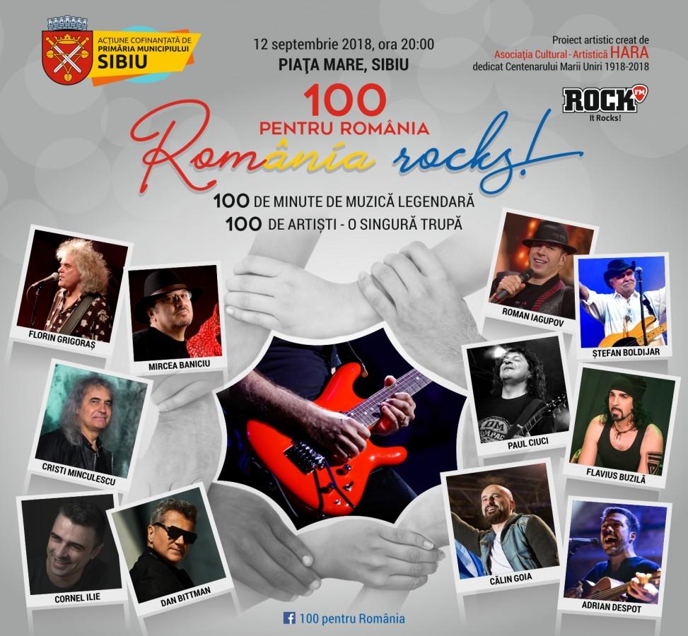 100 pentru România, 100 de minute de muzică legendară