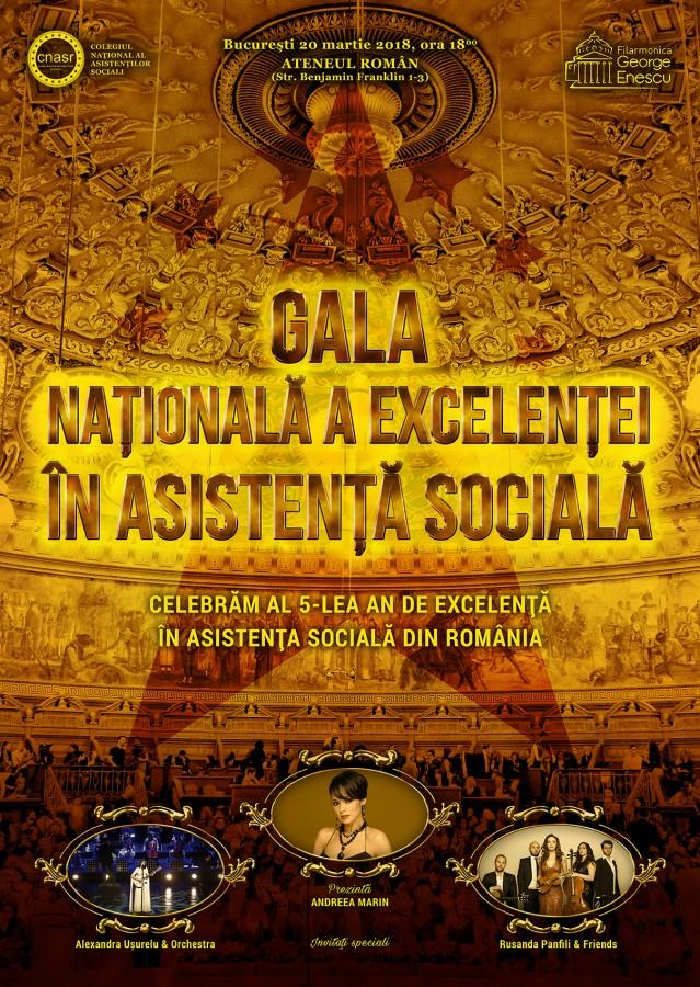 Sibience nominalizate la asistentul social al anului, la Gala Excelenţei în Asistenţa Socială
