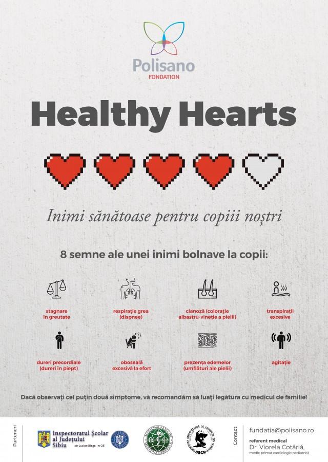 Campanie de informare în școli: Care sunt semnele unei malformații a inimii, la copii