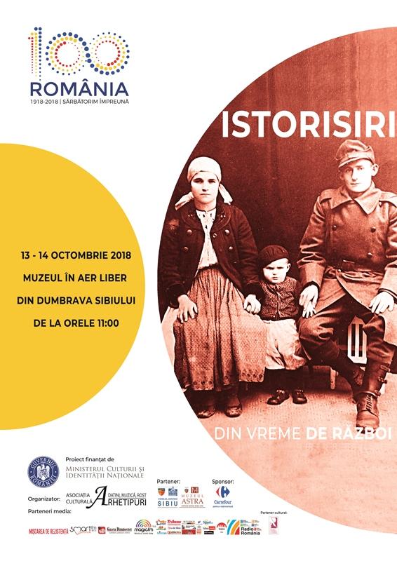 Istorisiri din vreme de război, în weekend, la Muzeul ASTRA