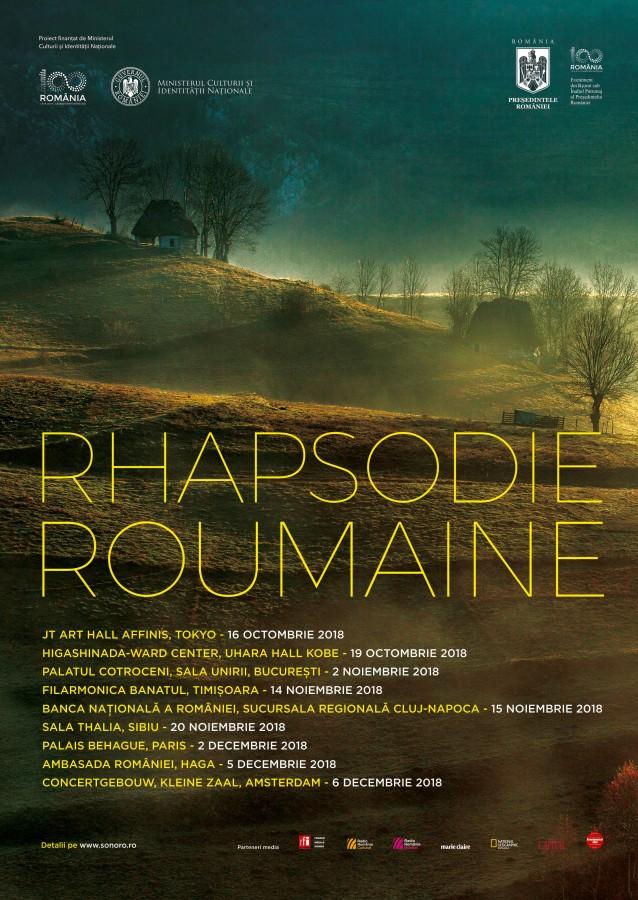 "Turneul ""Rhapsodie Roumaine"" ajunge la Sibiu"
