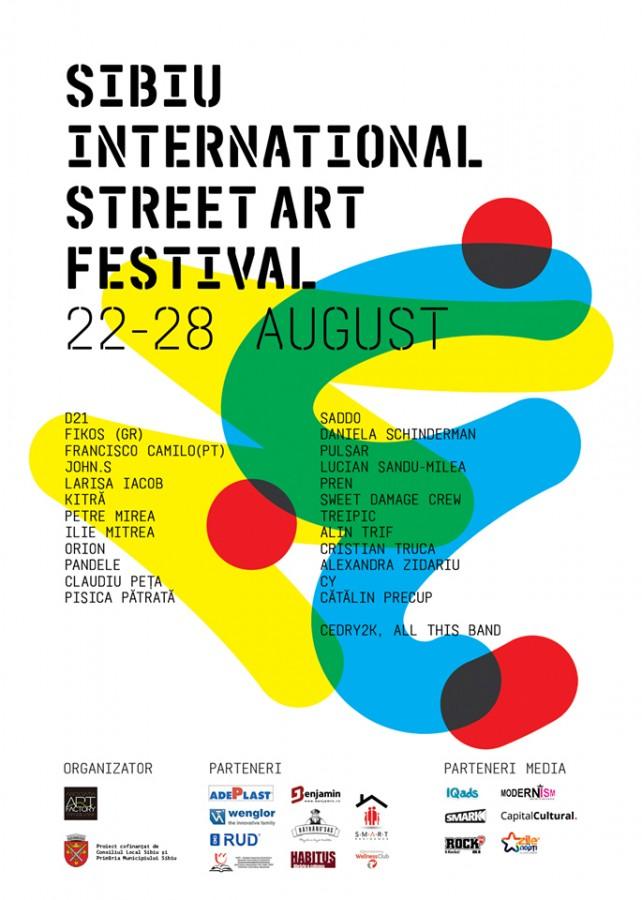 """""""Învață să zbori"""", tema celei de-a doua ediții a Sibiu International Street ART Festival"""