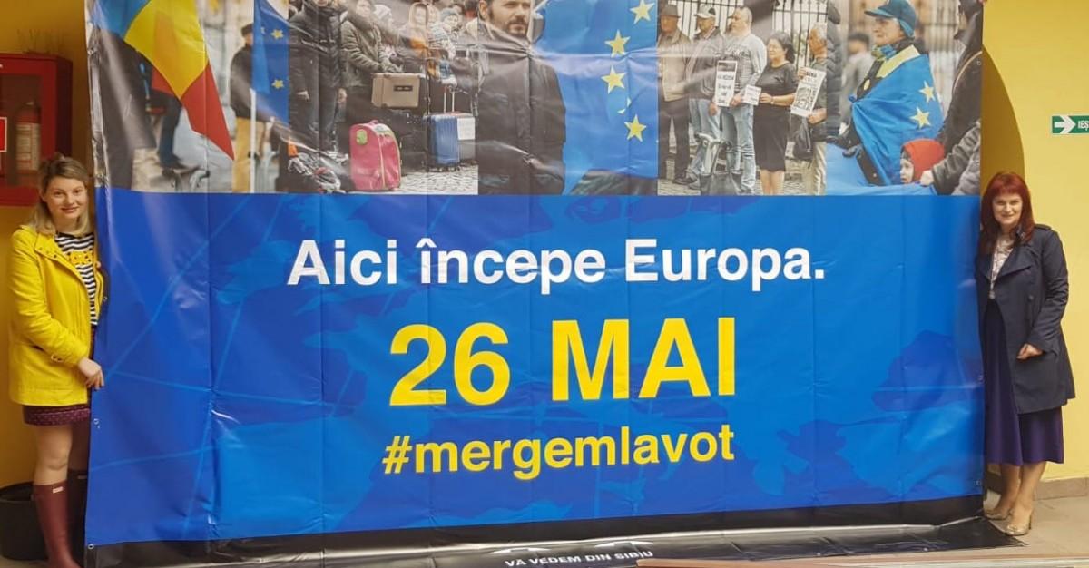 Premiile pentru mesajele Sibiului către Europa sunt folosite, parțial, pentru noi mesaje către sibieni