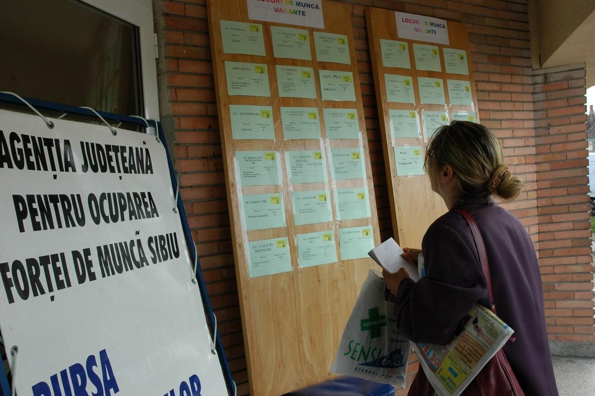 Sibiul e pe locul 3 în România la numărul de locuri de muncă vacante