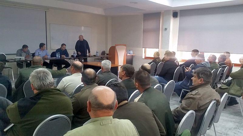 Întâlnire între vânătorii din AJVPS și Poliție