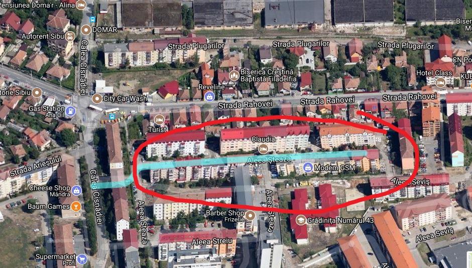 FOTO 6,3 mil. lei: Primăria asfaltează zece locuri în care pot parca 600 de mașini