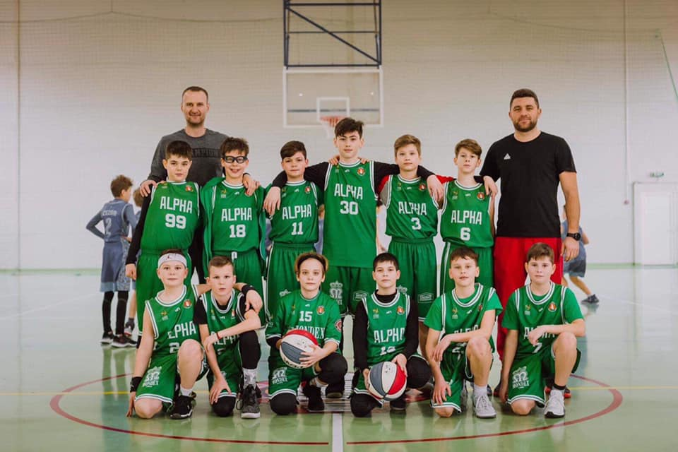 Alpha Basketball Sibiu obține locul 3 la minibaschet, la Cupa Transilvania