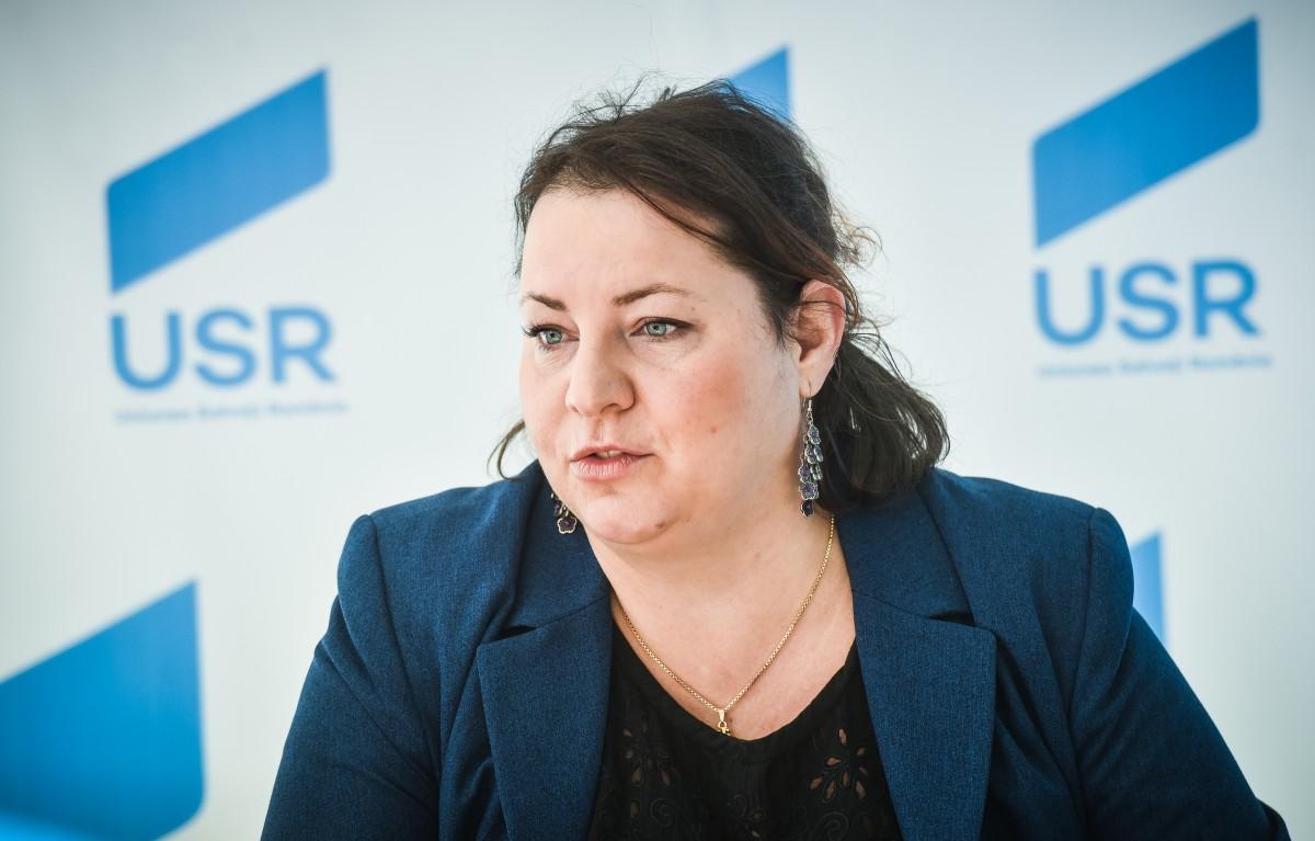 Raluca Amariei a fost revocată de la conducerea USR Sibiu