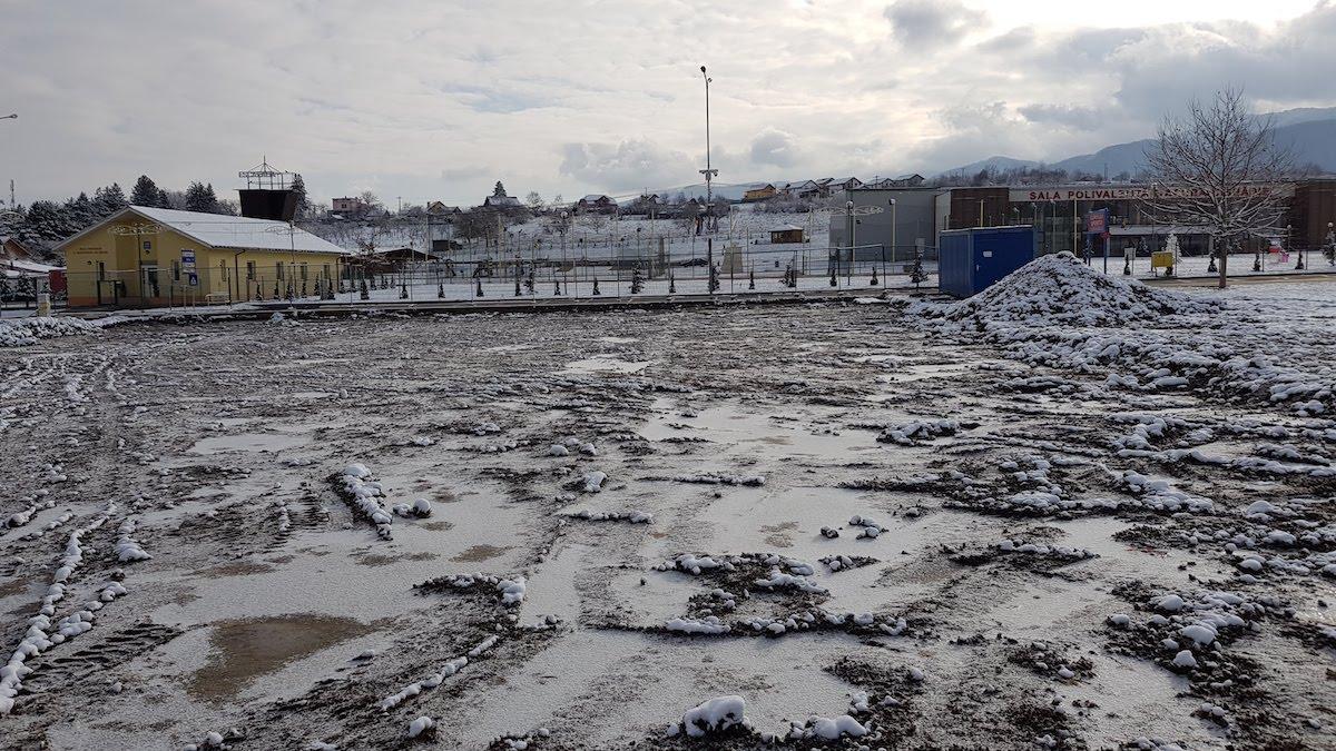 Au început lucrările pentru SPA-ul public din Cisnădie. Urmează licitație pentru hotel