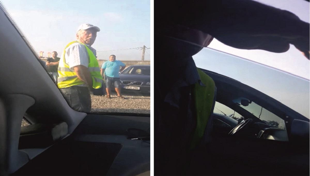 """VIDEO Un angajat al Piețe Sibiu SA își dă jos pantalonii și devine violent în fața unui sibian: """"mă apuc de tine de îți dau niște bătute!"""""""
