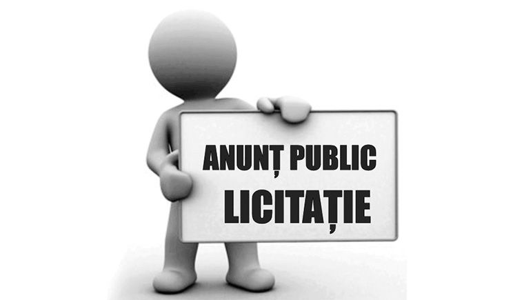 ANUNȚ DE LICITAȚIE (P)