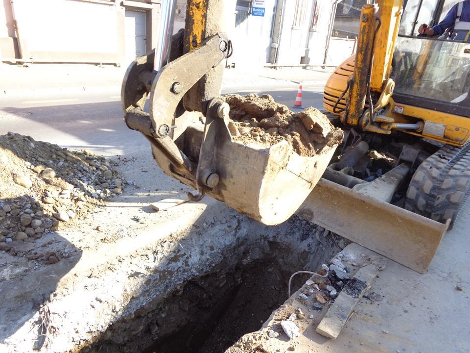 Lucrări de cuplare a conductei de transport apă potabilă, cu afectarea furnizării în Sibiu și alte 10 localități