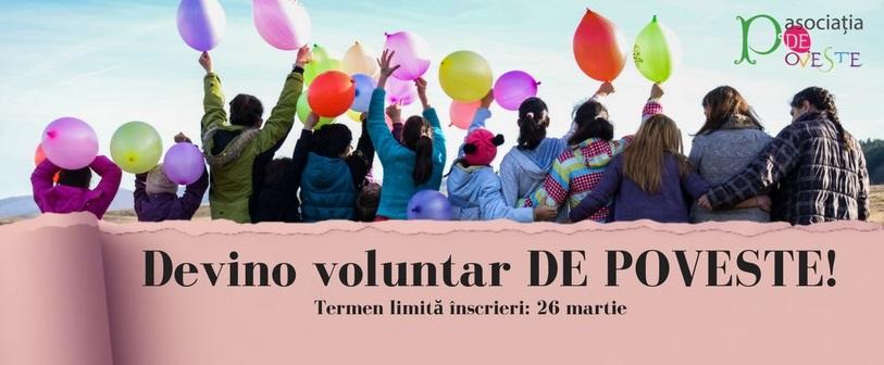 Asociația de Poveste caută voluntari pentru activități în beneficiul copiilor din centrele de plasament