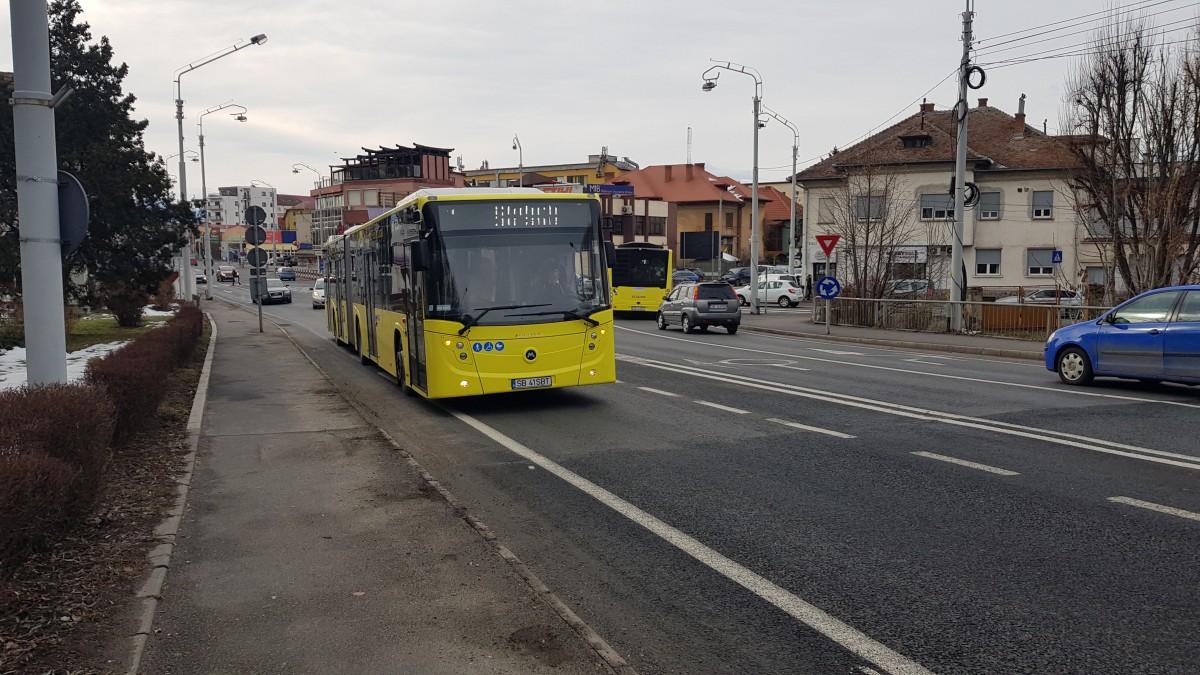 """VIDEO Noile autobuze Tursib rămân în drum. """"Încă mai sunt reglaje de făcut"""""""