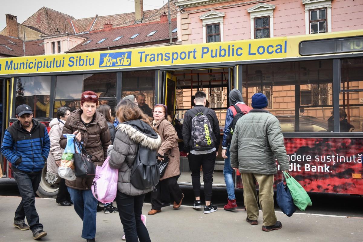 Începe înnoirea flotei de autobuze Tursib (CP)