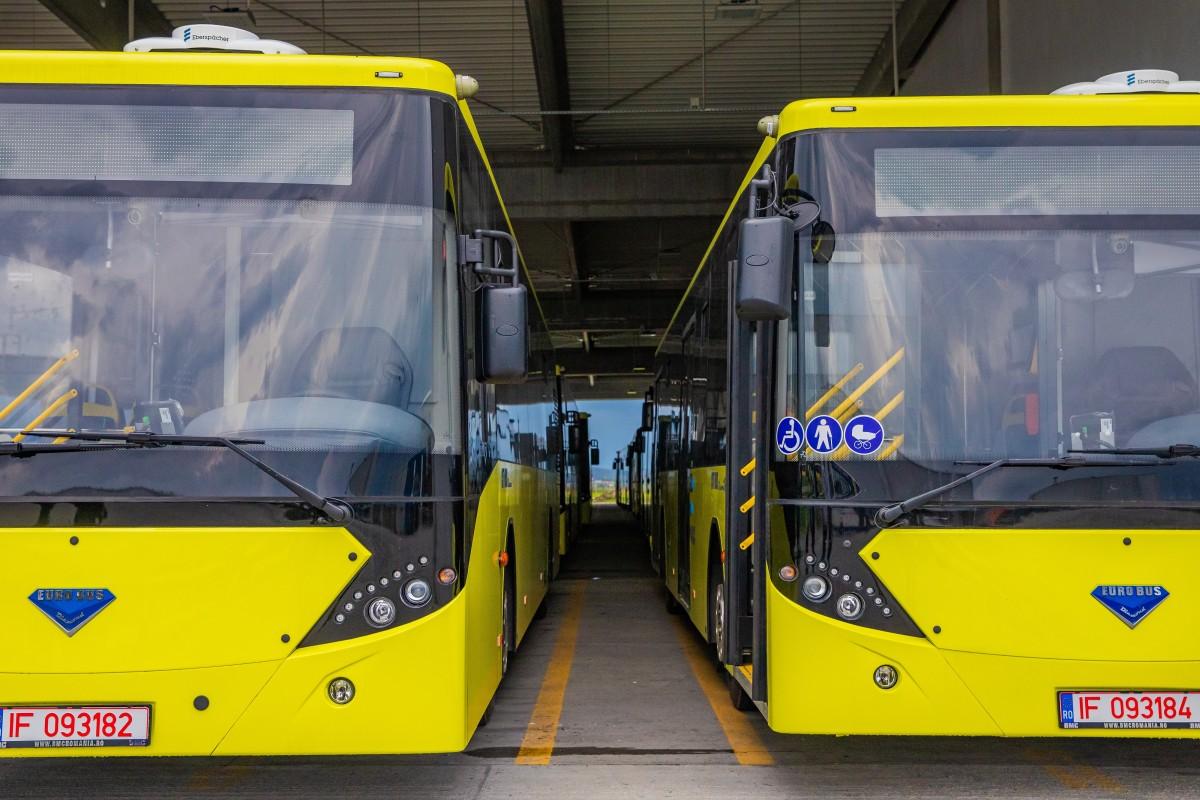 Încă 10 autobuze noi intră în flota Tursib