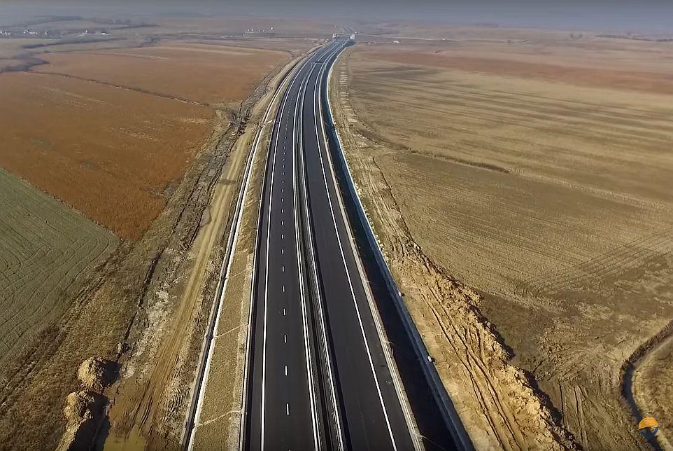 VIDEO - Un tronson de 15 km din autostrada Lugoj-Deva va fi inaugurat până la Crăciun