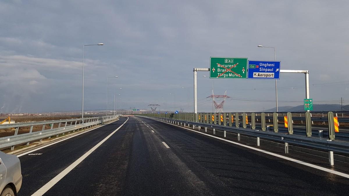 Cât au progresat șantierele autostrăzilor în ultima lună. Până la finalul anului mergem de la Sibiu la Nădlac pe autostradă, fără 13 km