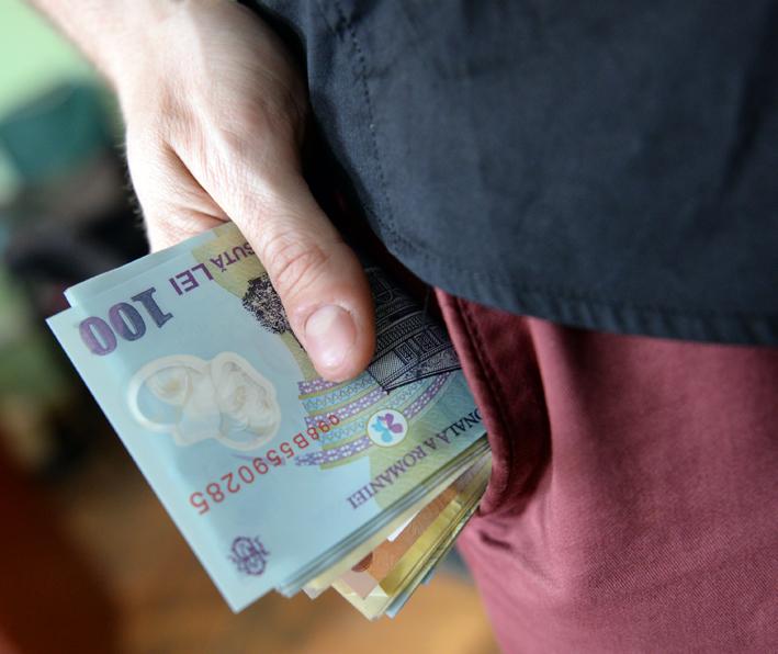 În șapte domenii de activitate salariul mediu a depășit 1000 de euro net pe lună